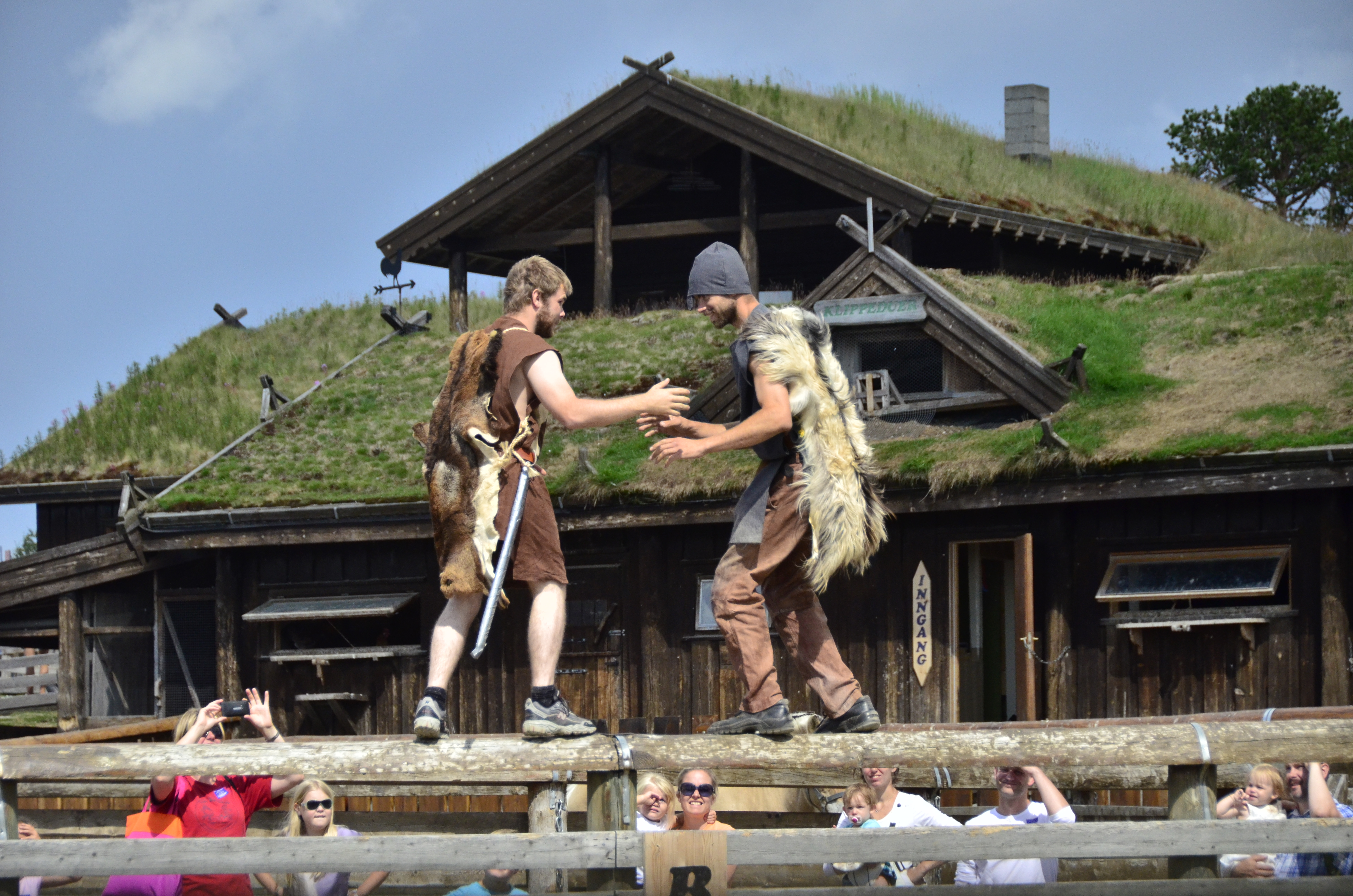 Medieval festival 20th July at Langedrag